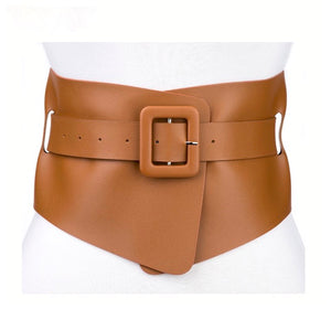 Wrap Corset Belt - Tan