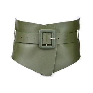 Wrap Corset Belt - Army Green