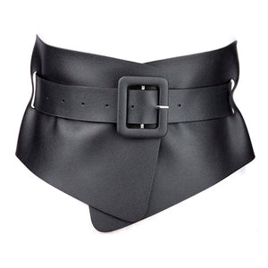 Wrap Corset Belt - Black