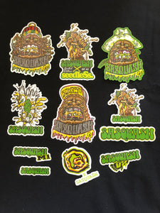 Sasquash Sticker Pack