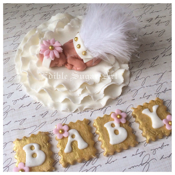 BABY SHOWER CAKE Cake Topper