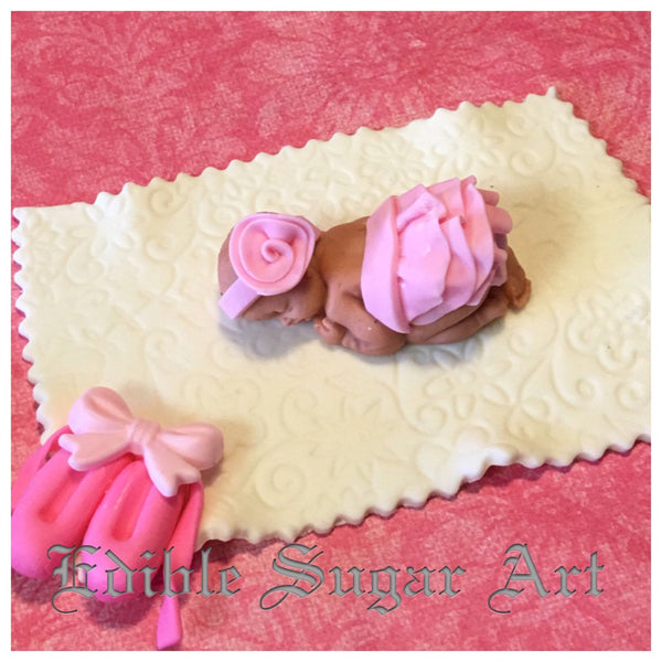 BABY SHOWER CAKE Topper /  Ballerina Baby shower / Princess baby shower /cake topper
