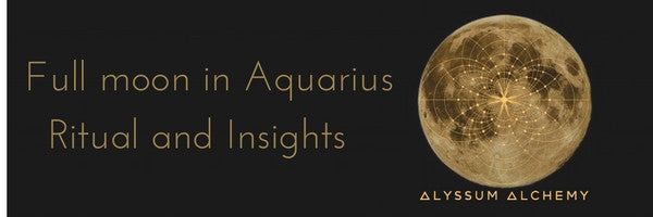 Aquarius Full Moon Insights and Ritual
