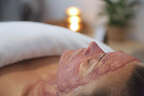 Holistic Skin treatments include Rose Radiance Facial Nectar and rose quartz massage rollers