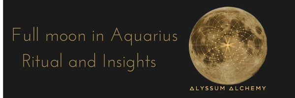 Full Moon in Aquarius Insights and Ritual