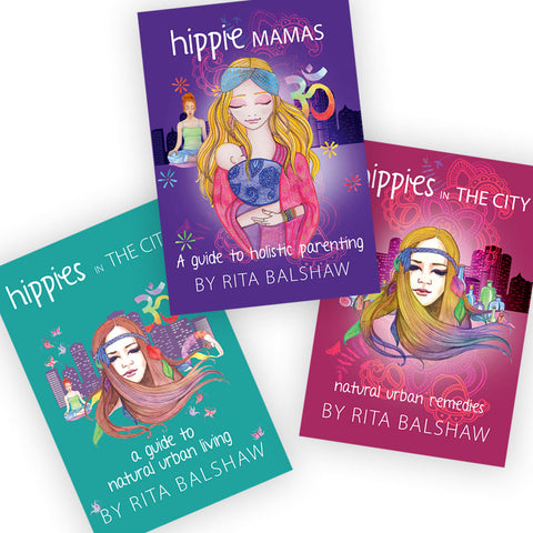 Hippies in the City books by Rita Balshaw