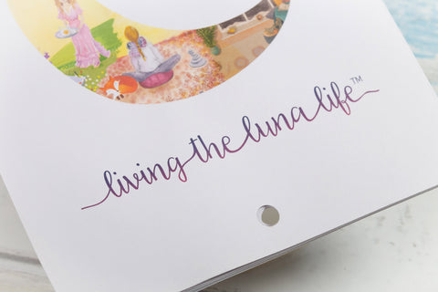 Living the Luna Life monthly planner by Danielle Rickwood