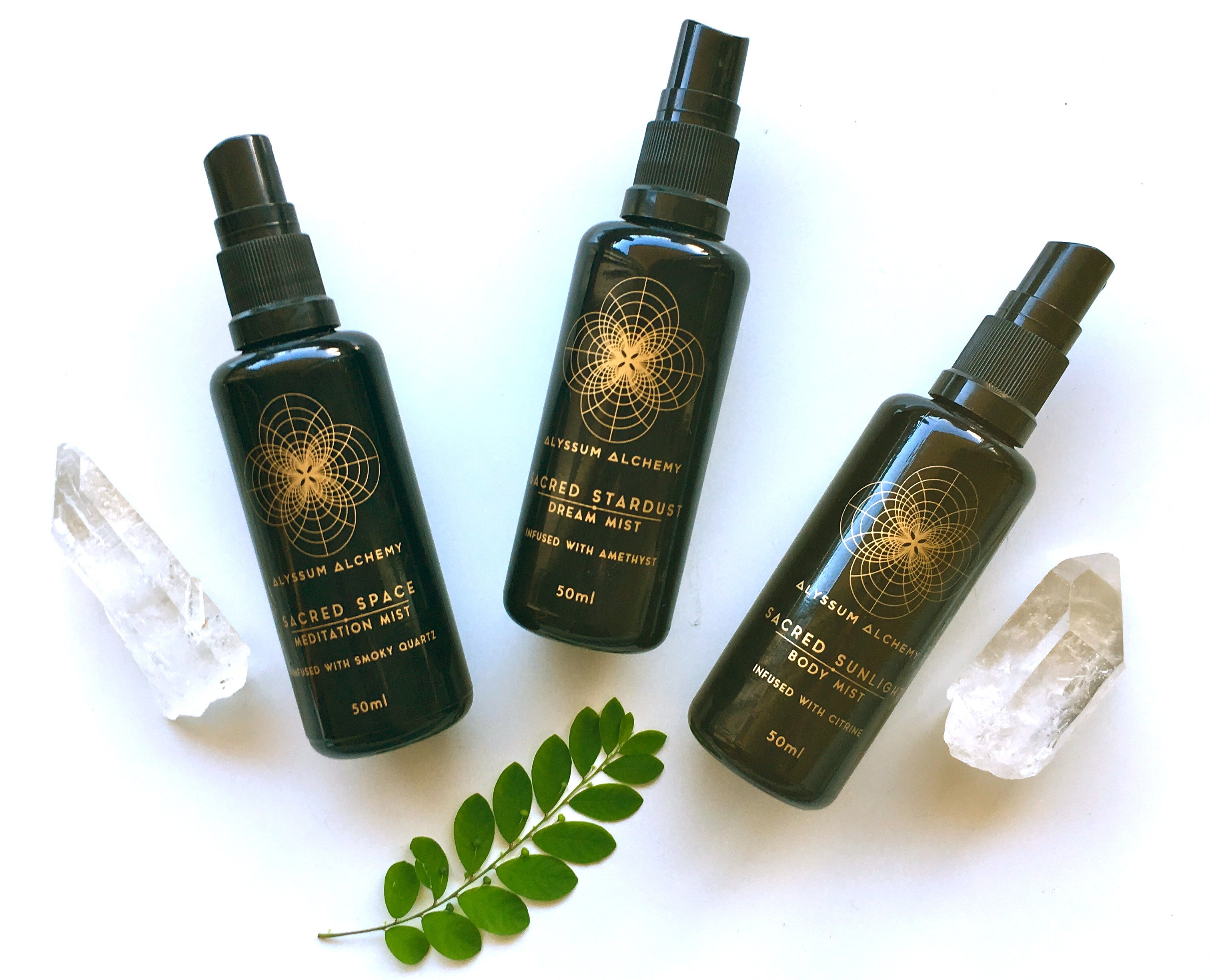 Sacred Scents - organic natural perfume set