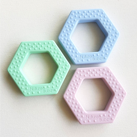 Hexagon Silicone Teether