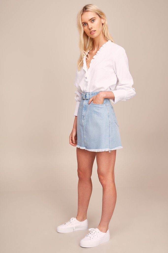 4542c0a00844 ... The Fifth Label - Radiate Button Down Shirt- White - Urban Bandit ...