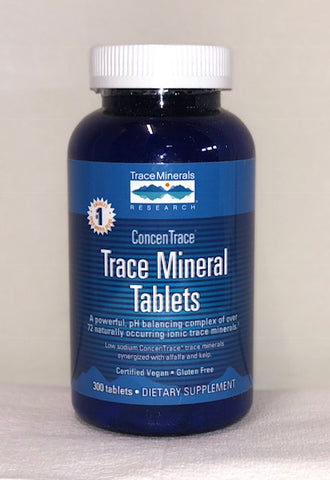 Trace Mineral ConcentraceTablets