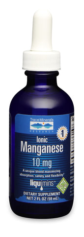 Trace Minerals Manganese 10 mg Dropper 2oz