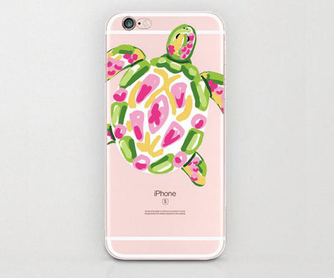 Watercolor Sea Turtle iphone case