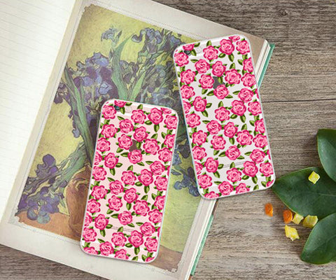 Watercolor Rose garden iphone case