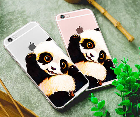 WaterColor Panda iphone case
