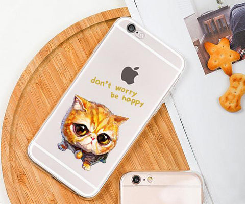 Watercolor Cute Garfield iphone case