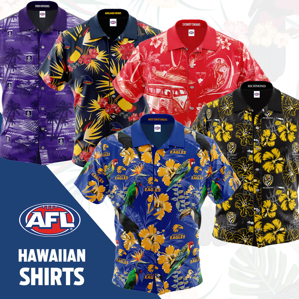 AFL Hawaiian Shirts