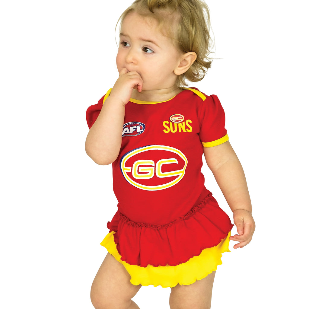 AFL Gold Coast Suns Girls Footysuit