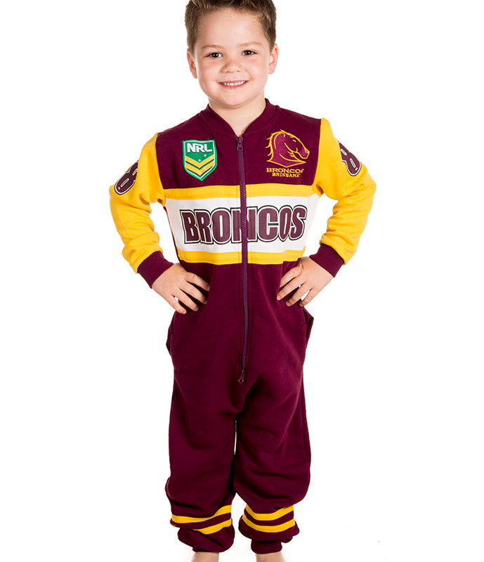 NRL Broncos Youth Onesie AshTabula