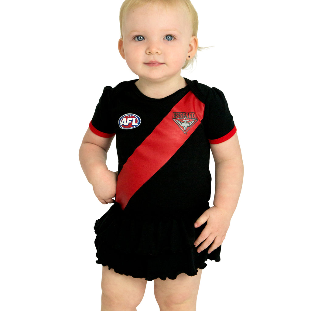 AFL Essendon Girls Footysuit