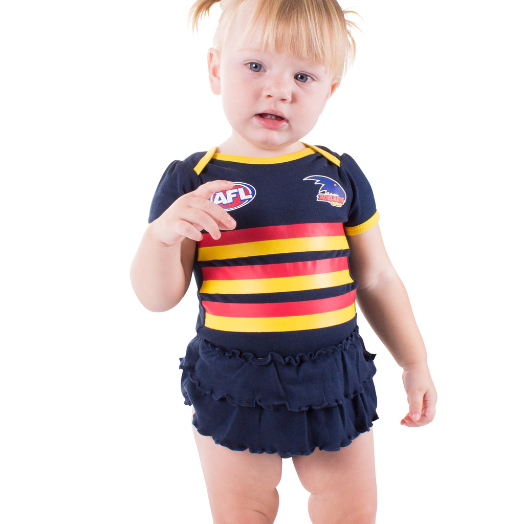 AFL Adelaide Crows Girls Footysuit