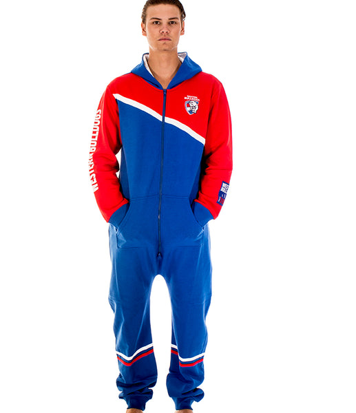 AFL Western Bulldogs Adult Onesie