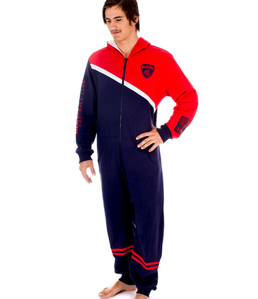 AFL Melbourne Demons Adult Onesie