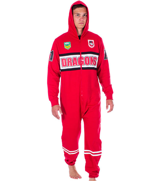 NRL Dragons Adult Onesie AshTabula