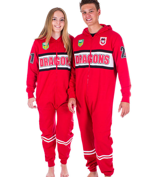 NRL Dragons Adult Onesie