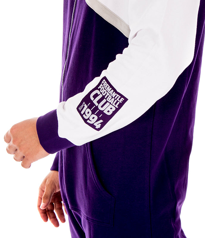 AFL Fremantle Dockers Adult Onesie Ashtabula