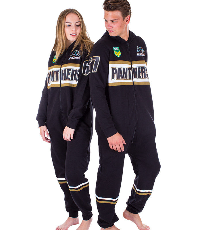 NRL Panthers Adult Onesie AshTabula