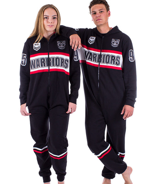 NRL Warriors Adult Onesie