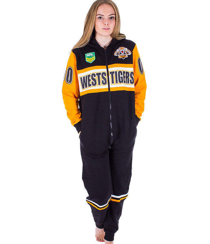 NRL Wests Tigers Adult Onesie