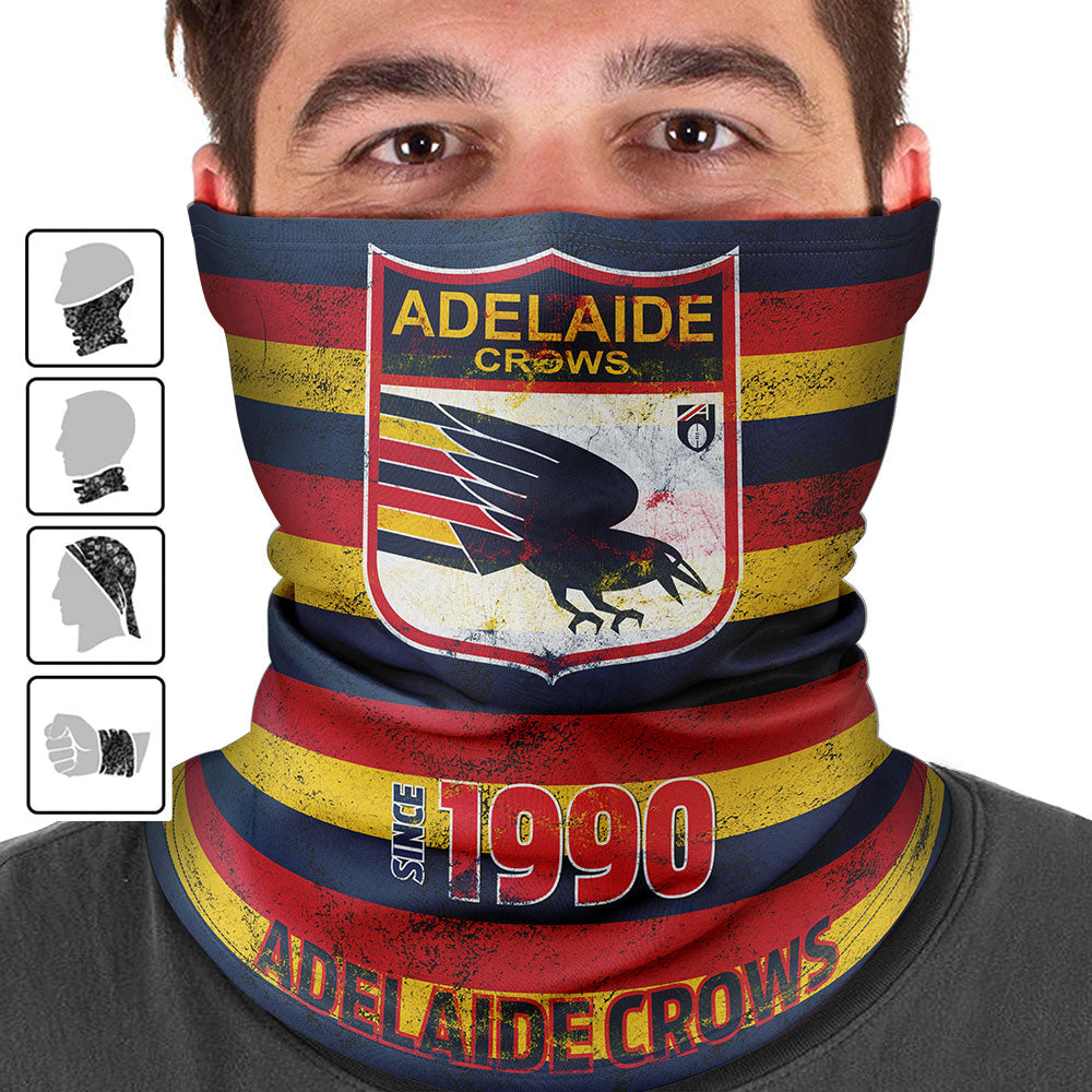 AFL Adelaide Crows Heritage Multi-Purpose Bandana