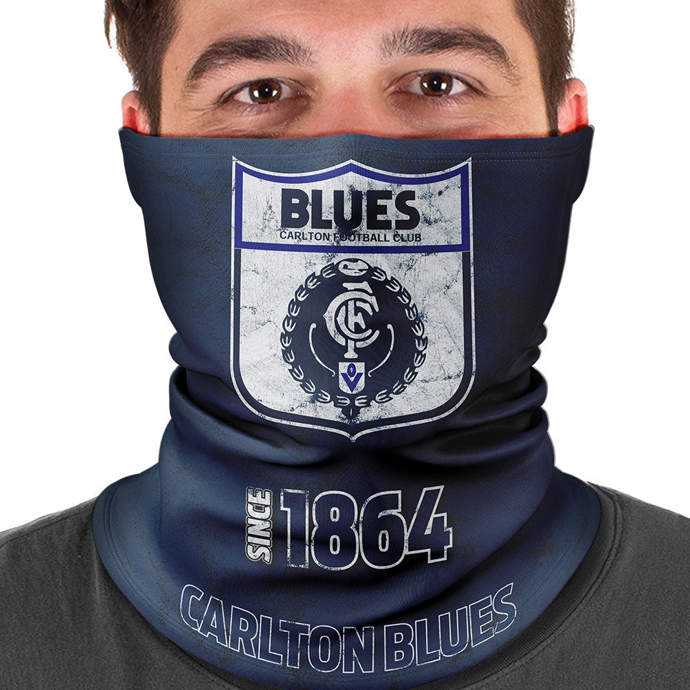 AFL Carlton Heritage Multi-Purpose Bandana
