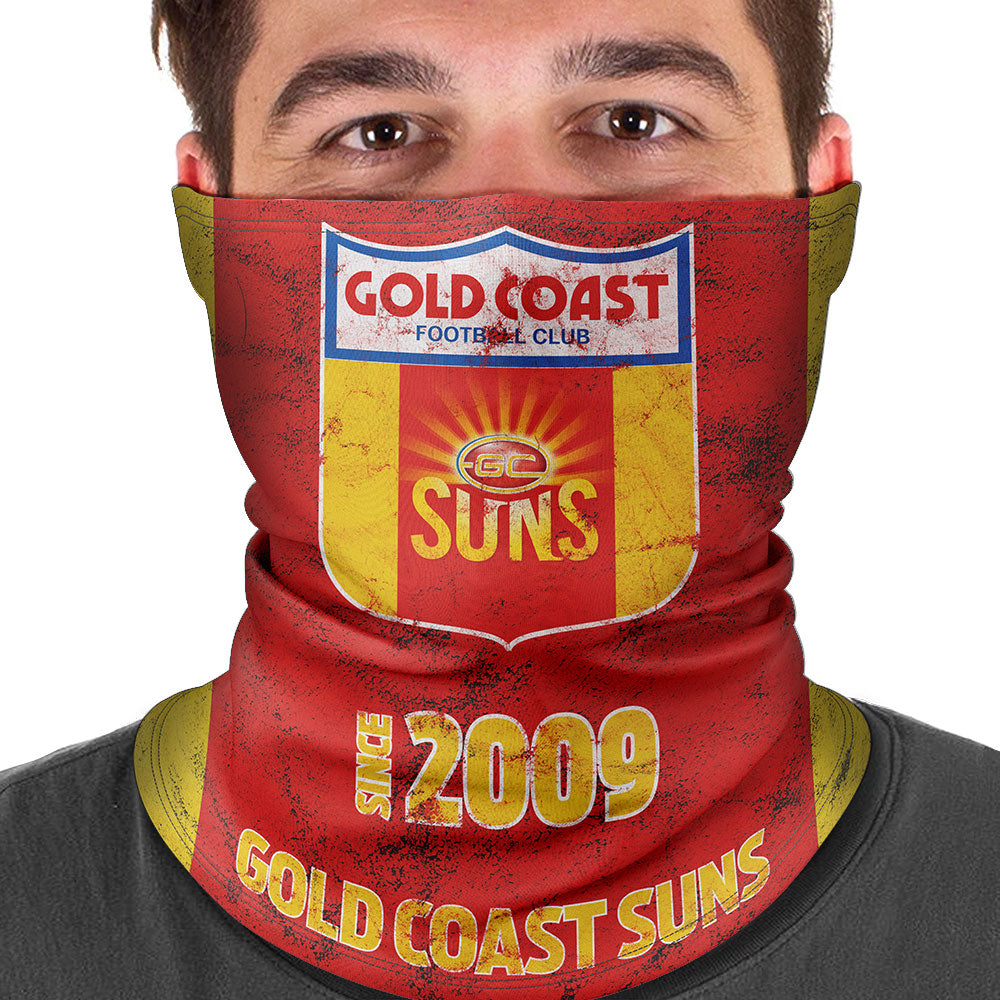 AFL Gold Coast Suns Heritage Multi-Purpose Bandana