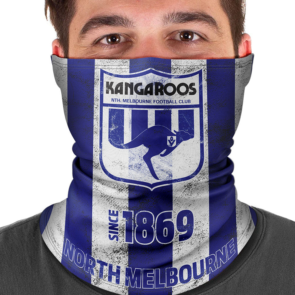 AFL North Melbourne Heritage Multi-Purpose Bandana