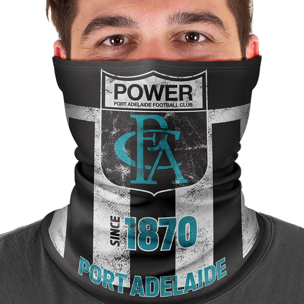 AFL Port Adelaide Heritage Multi-Purpose Bandana