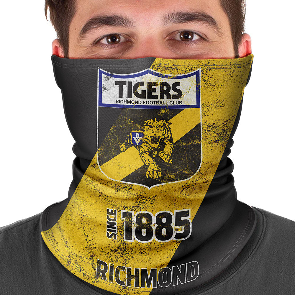 AFL Richmond Tigers Heritage Multi-Purpose Bandana