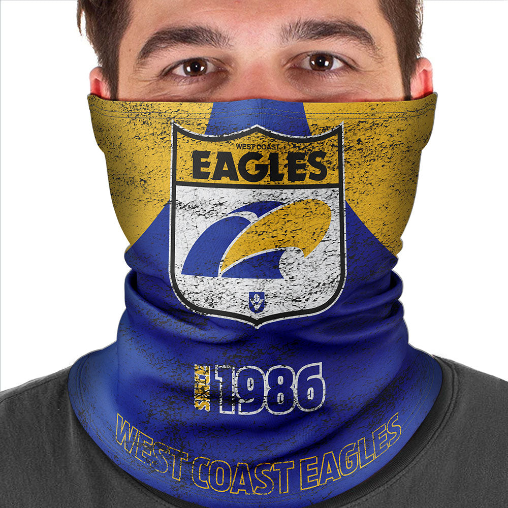 AFL West Coast Eagles Heritage Multi-Purpose Bandana
