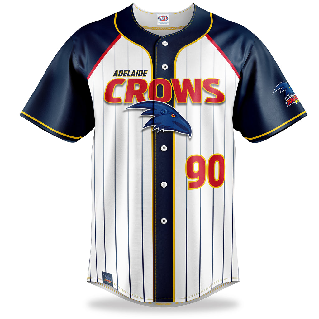 AFL Adelaide Crows Baseball Shirts