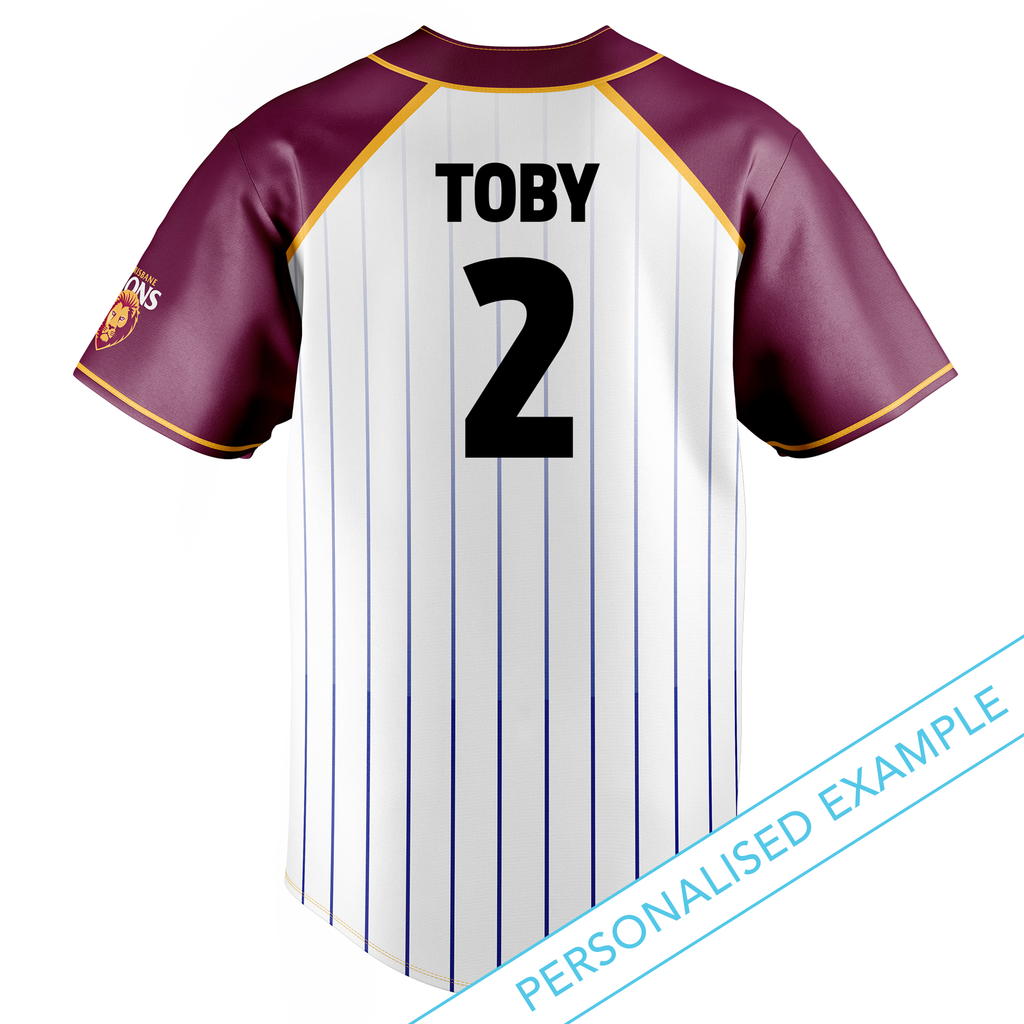 AFL Brisbane Lions Baseball Shirts