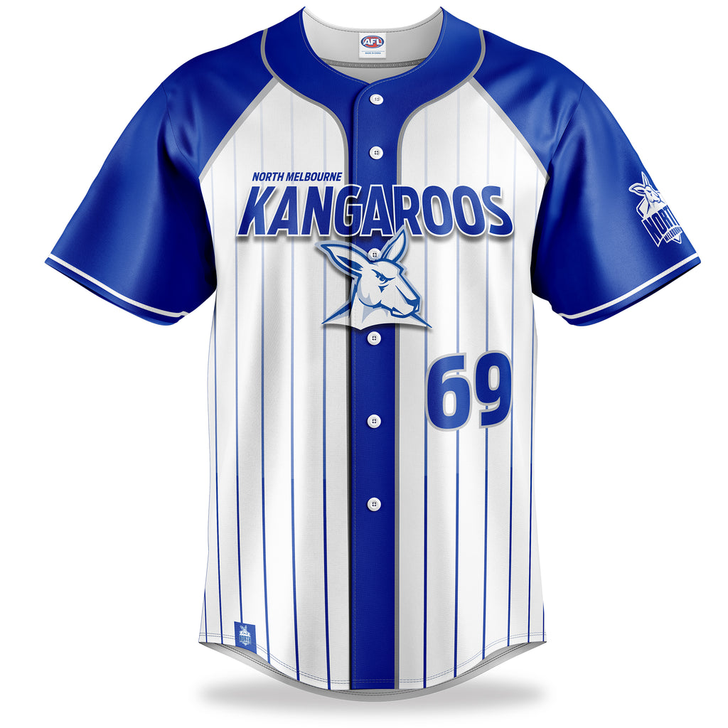 AFL North Melbourne Baseball Shirts