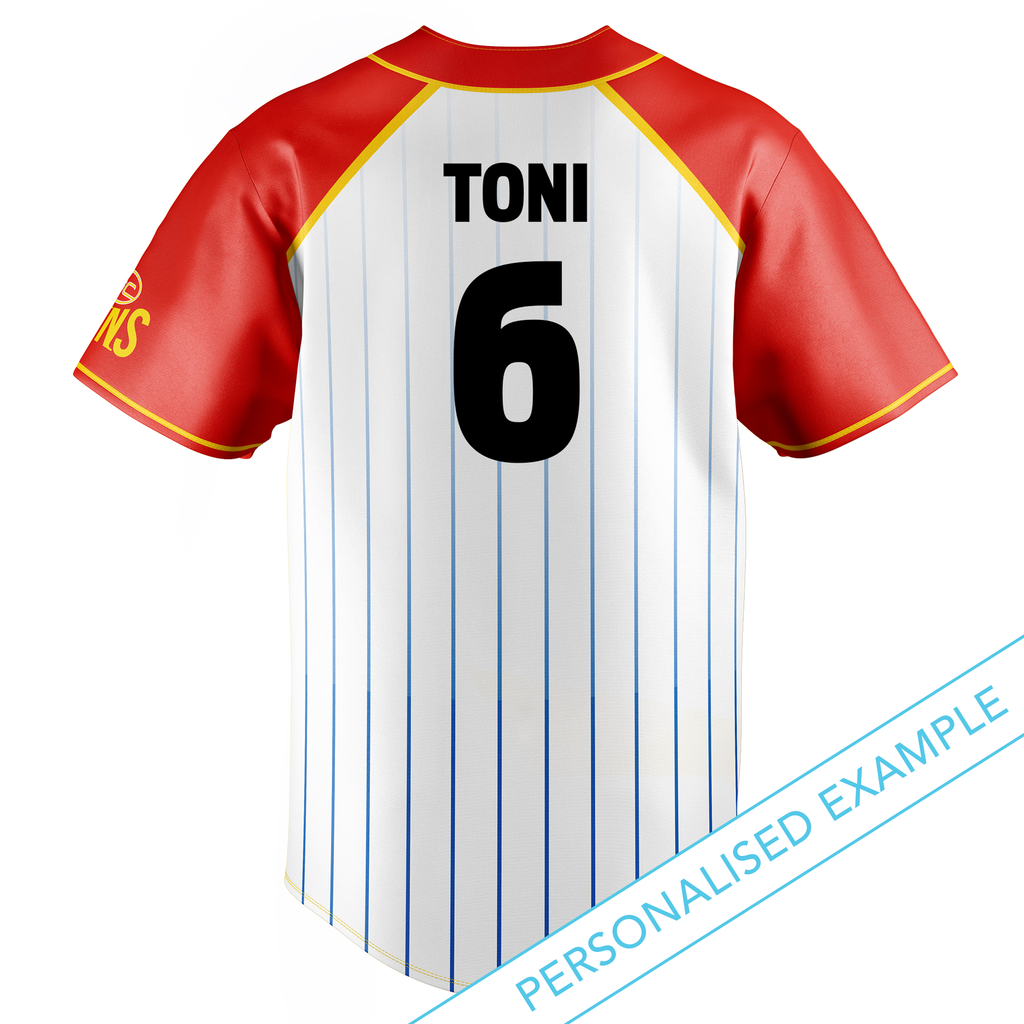 AFL Gold Coast Suns Baseball Shirts