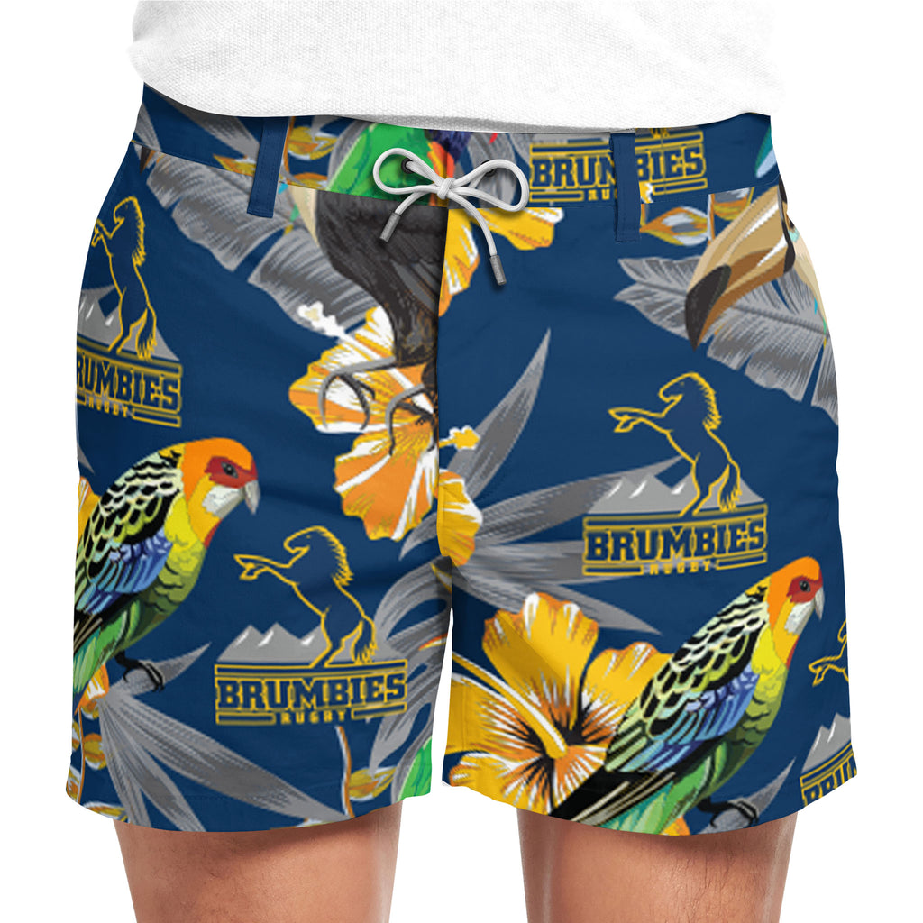 ACT Brumbies Hawaiian Shorts