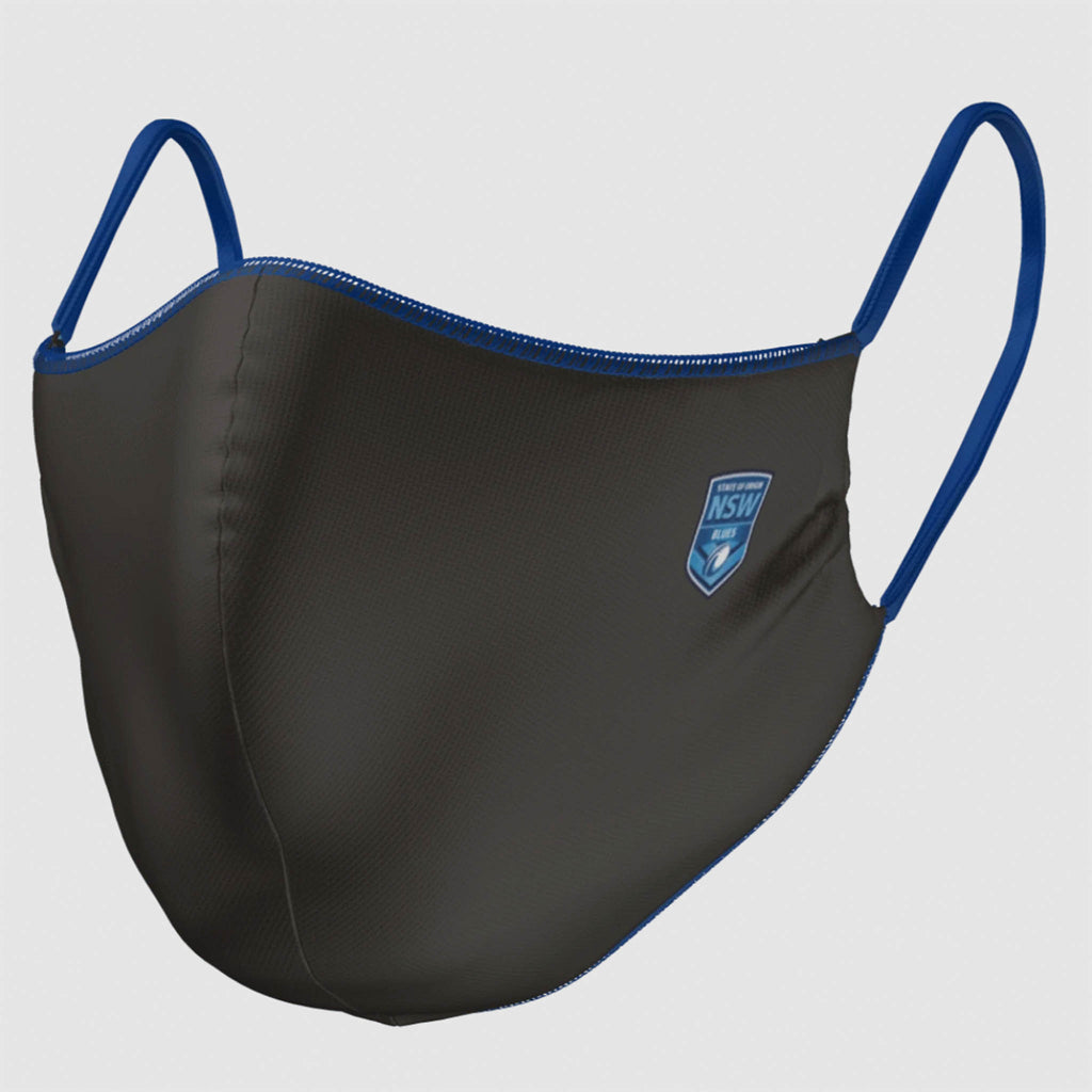 NSW Blues Face Mask