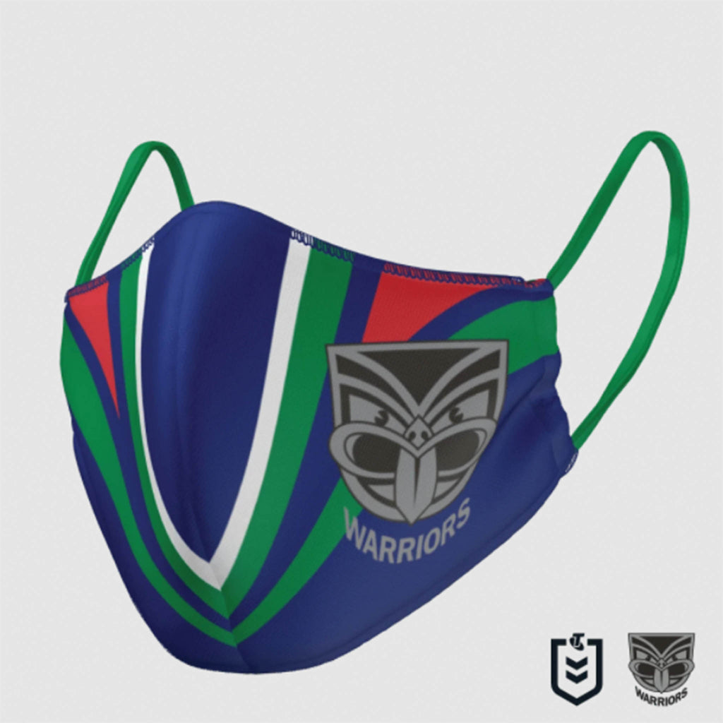 NRL Warriors Face Mask