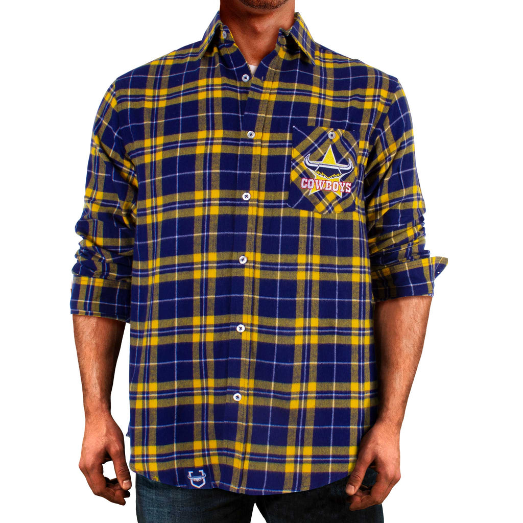 NRL Cowboys Flannel Shirt