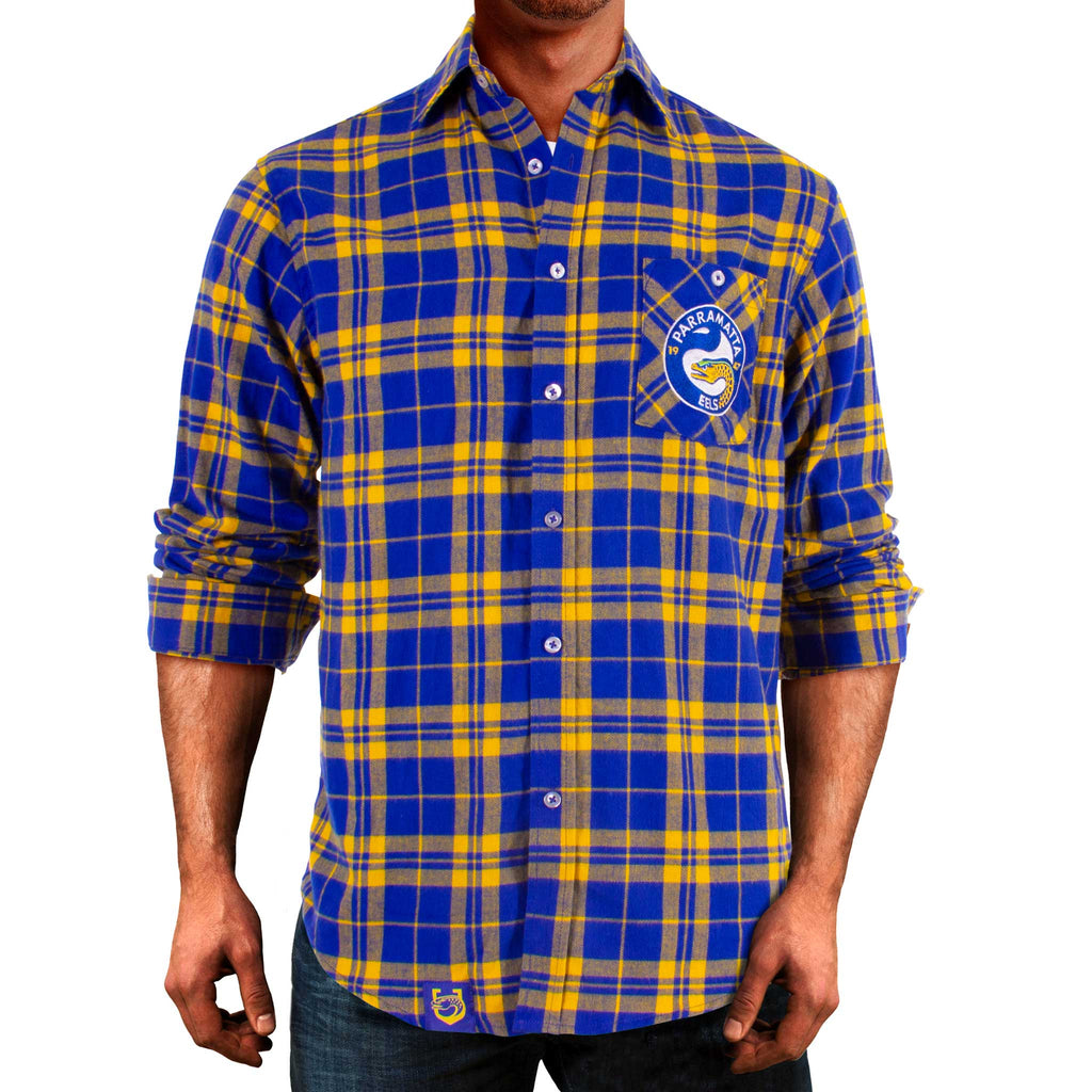 NRL Eels Flannel Shirt