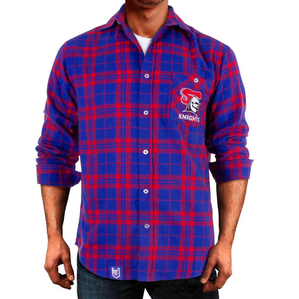 NRL Knights Flannel Shirt